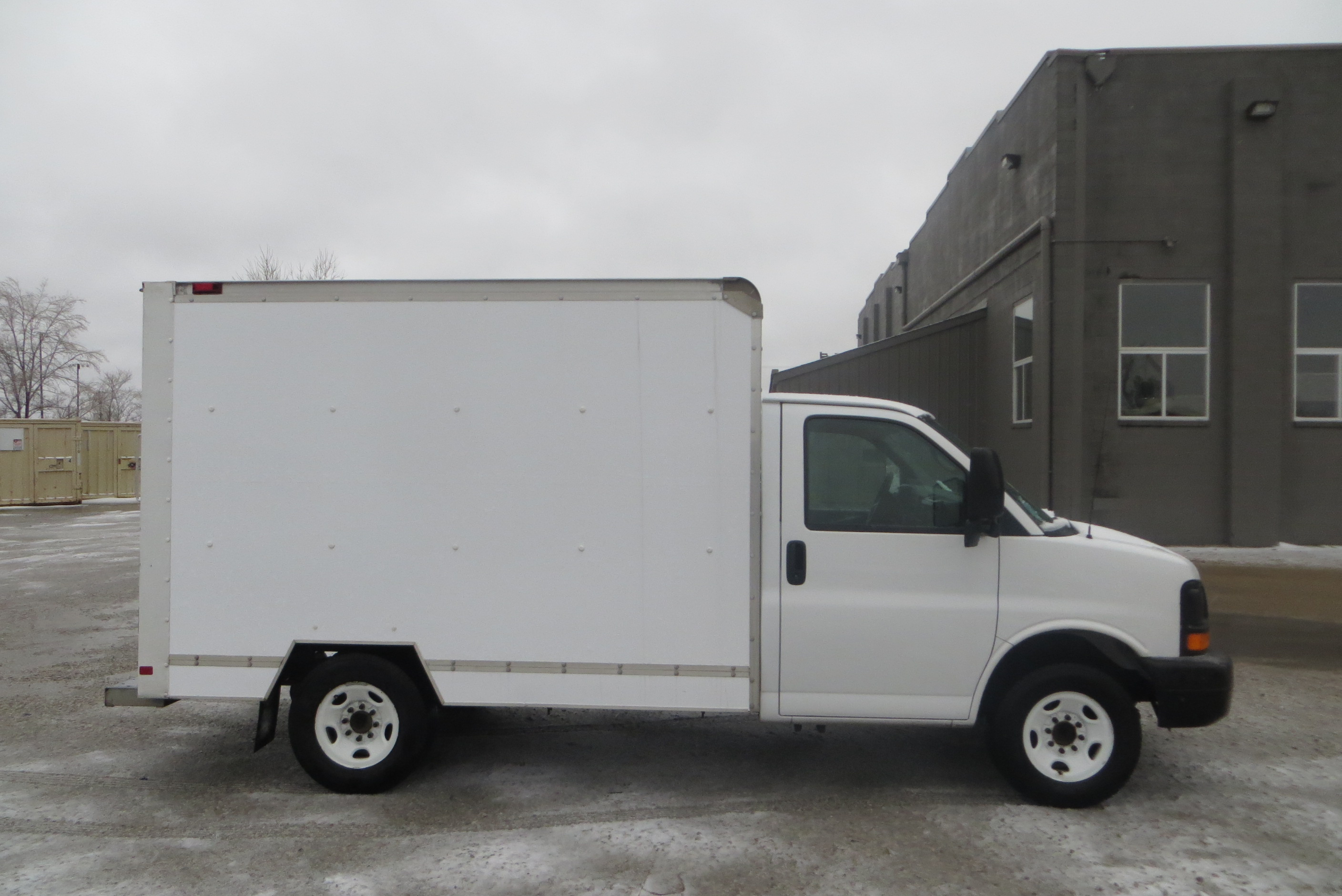 Mag11282 2008 Gmc Box Truck 10 Ft Mag Trucks