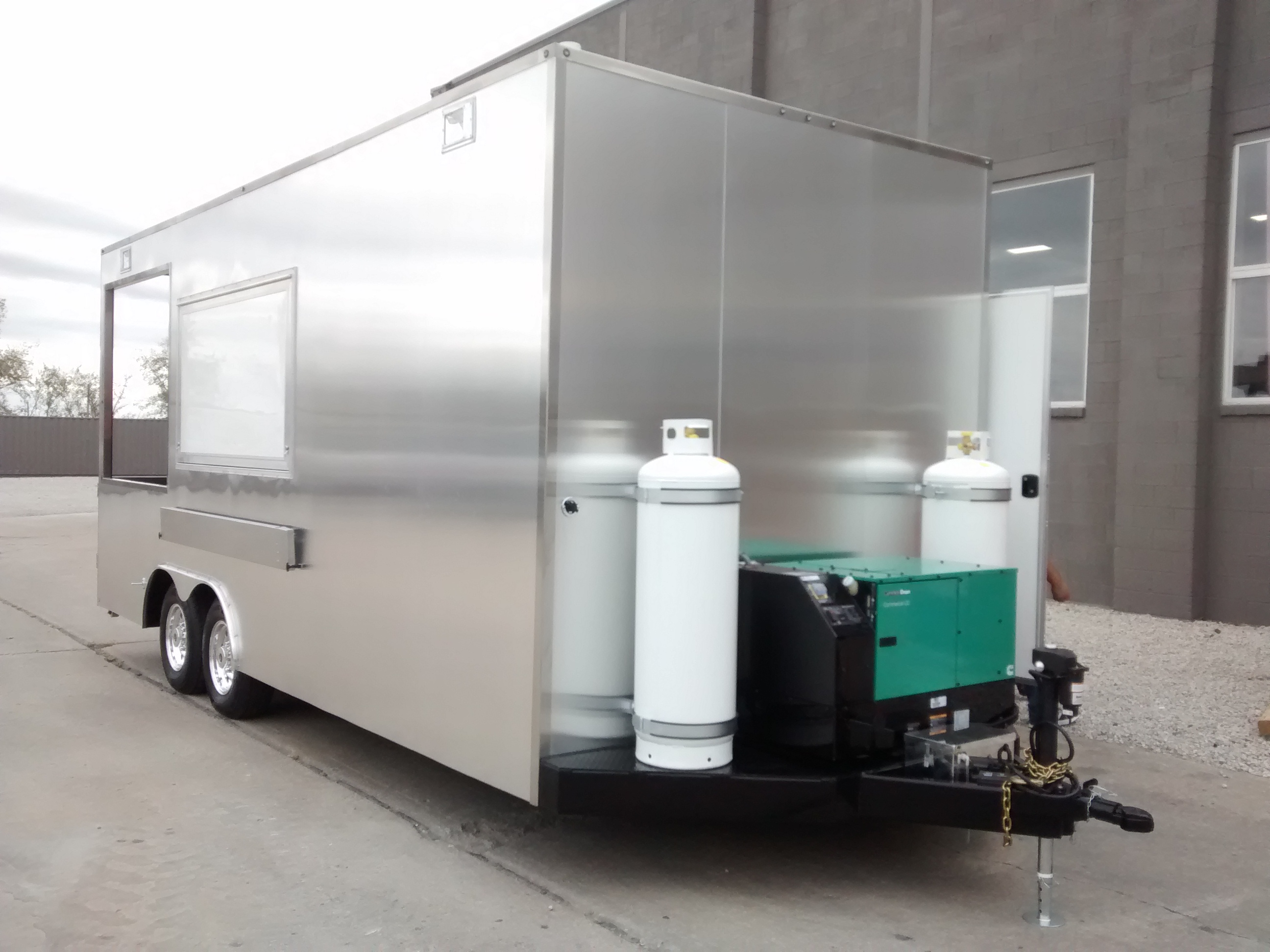 large image of 20-ft Brand New Custom Pizza Trailer