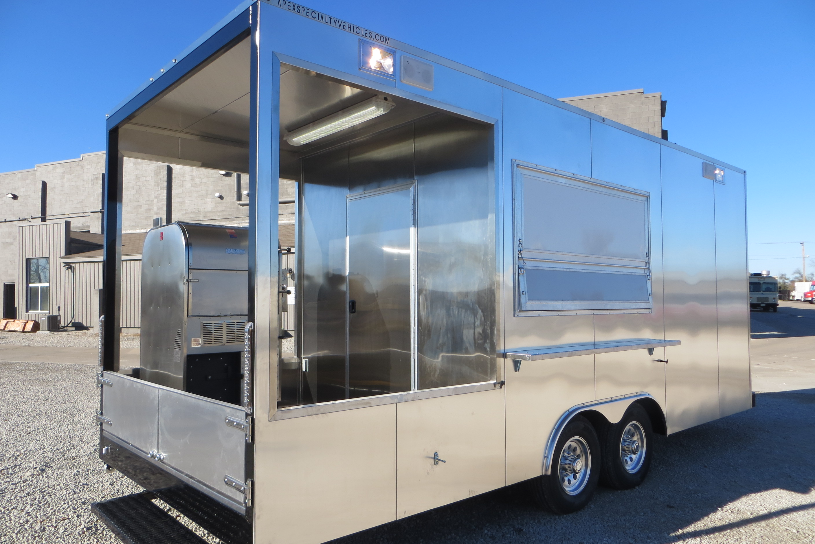 large image of 20 Ft BBQ Trailer