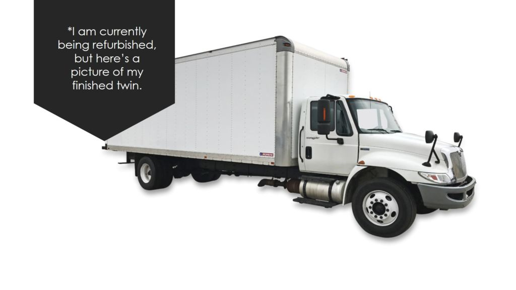 large image of 2011 International 26-ft Box Truck 4300