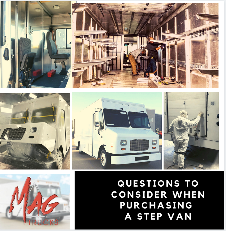 Questions to Consider When Purchasing a Step Van